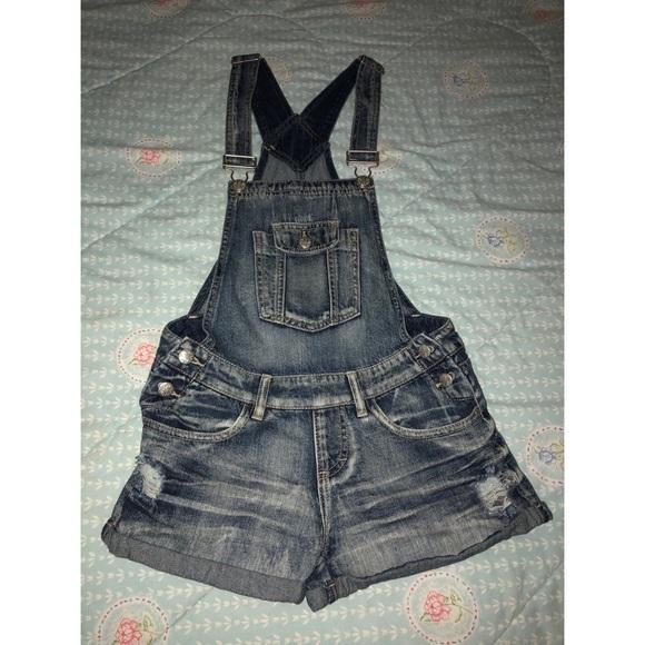 Blue Spice Denim - ~Short overalls~